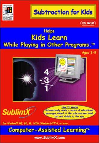 Read Online SublimX Subtraction for Kids pdf epub