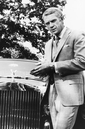 Steve McQueen in The Thomas Crown Affair 24x36 Poster by Rolls-Royce