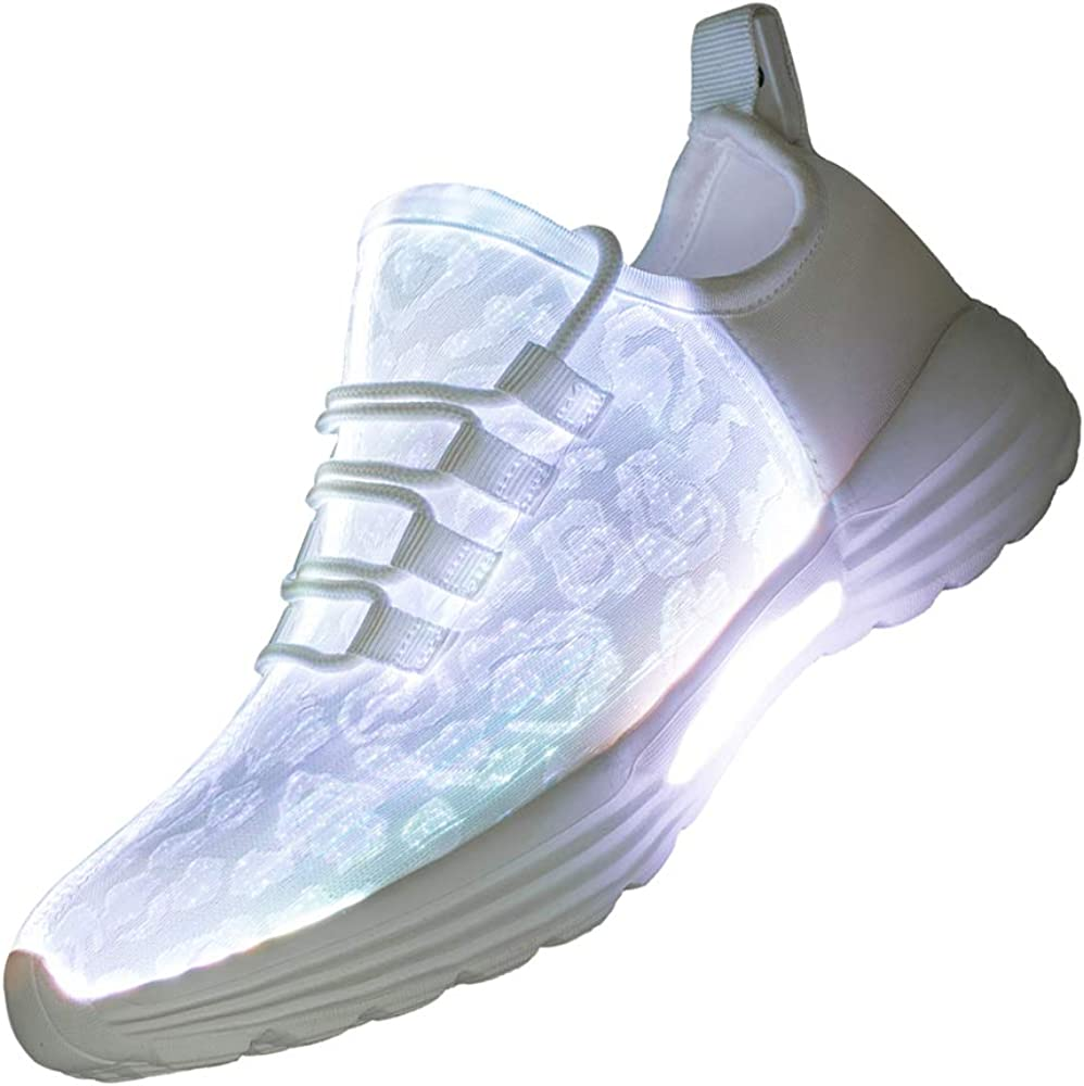 Lxso Fiber Optic LED Light Up Shoes