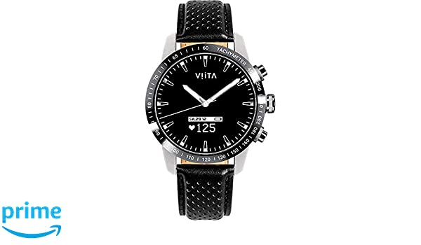 Viita Watch Hybrid HRV - Taquímetro con Correa de Piel ...