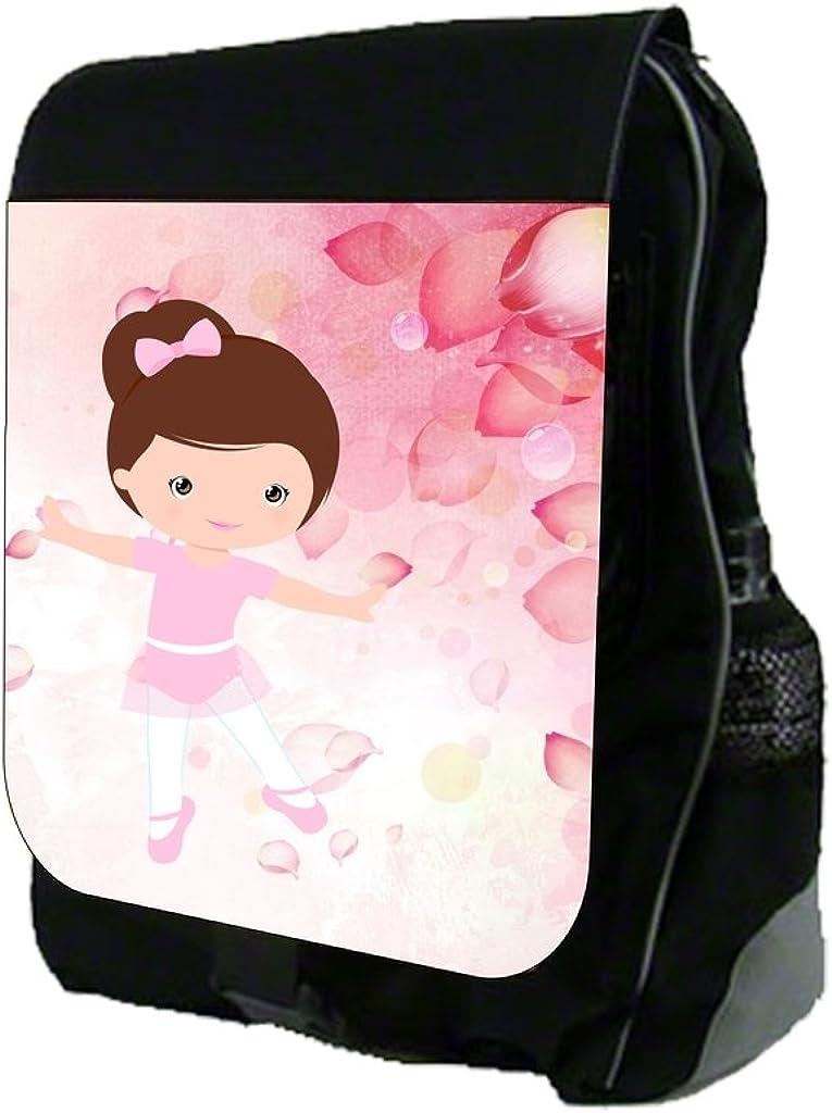 Ballerina and Rose Petals TM School Backpack