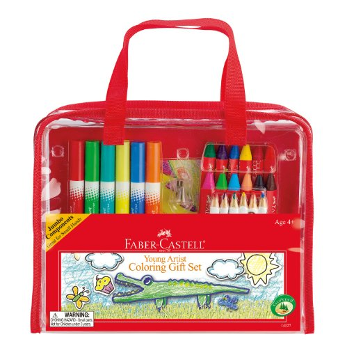 Faber-Castell - Young Artist Coloring Gift Set - Premium Art Supplies For Kids