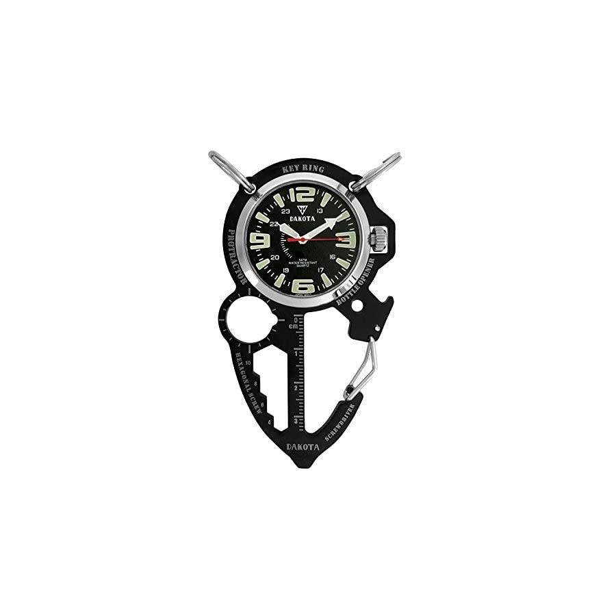 Dakota Watch Company Multi Tool Clip Watch