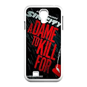 Samsung Galaxy S4 9500 Cell Phone Case White_Sin City A Dame To Kill For Iqqgg
