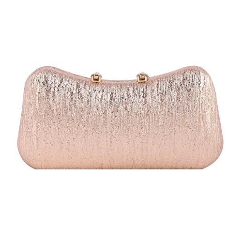 Bag Elegant U Grey Damara Sparkling Clasp Party Womens Dark xfq1BYTPRw