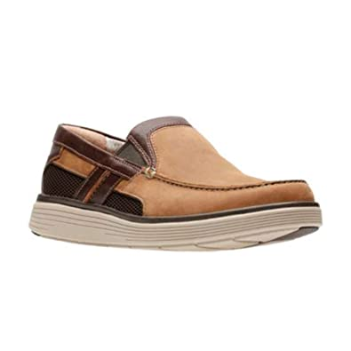0d69a8babdbda Amazon.com | CLARKS Mens Un Adobe Free Loafer | Loafers & Slip-Ons