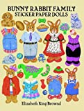 img - for Bunny Rabbit Family Sticker Paper Dolls book / textbook / text book