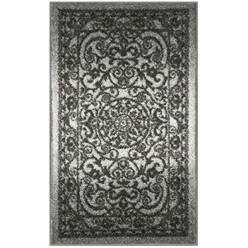 Mainstays India Medallion Textured Print Area Rug Runner Collection,1'8