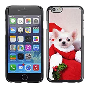 YOYO Slim PC / Aluminium Case Cover Armor Shell Portection //Christmas Holiday Cute Holiday Dog Puppy 1183 //Apple Iphone 6