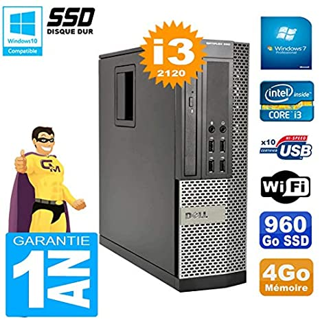 Dell PC 990 SFF Core I3-2120 - Memoria RAM de 4 GB, Disco Duro de ...