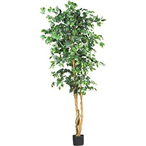 Nearly Natural 5209 Ficus Silk Tree 22