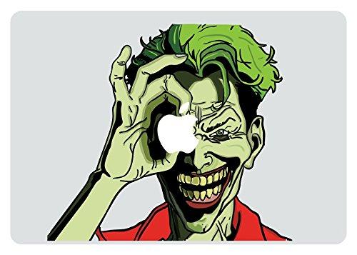 The Joker Looking Through Apple MacBook Pro Vinyl Decal stic