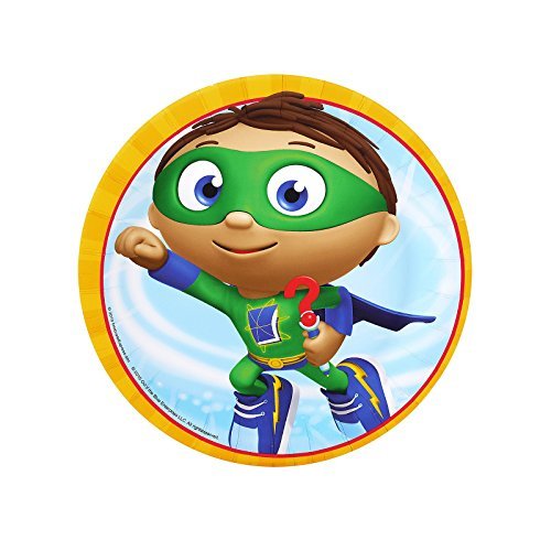 Super Why Party Supplies - Dessert Plates (8)