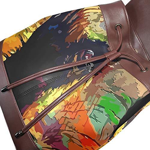 dos à multicolore Taille au unique femme pour DragonSwordlinsu porté Sac main qXfwxZ6