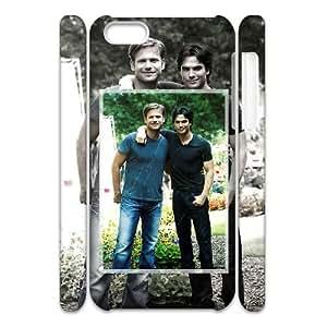 DIY The Vampire Diaries 3D Phone Case, DIY 3D Cover Case for iphone 5c with The Vampire Diaries