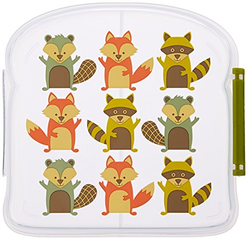 Sugarbooger Good Lunch Sandwich Box, What Did The Fox Eat