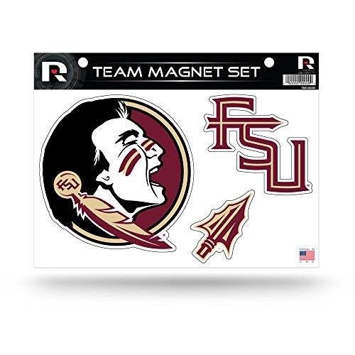State Florida Auto - NCAA Florida State Seminoles Die Cut Team Magnet Set Sheet