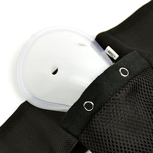 MTG Pro Groin Guard G1/ Black Groin Guard with Cup//Groin Guard Martial Arts Muay Thai Hockey For Adults and Children