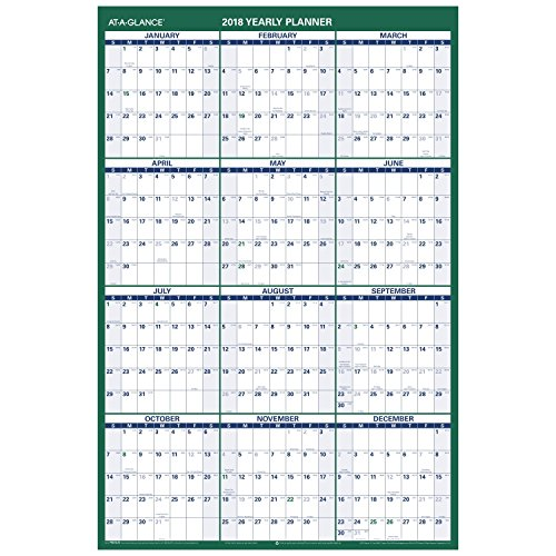 AT-A-GLANCE Vertical Wall Calendar, 24