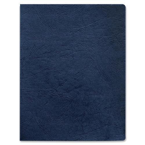 52136 Fellowes Grain Presentation Covers - Oversize, Navy, 200 Pack - Letter - 8.50