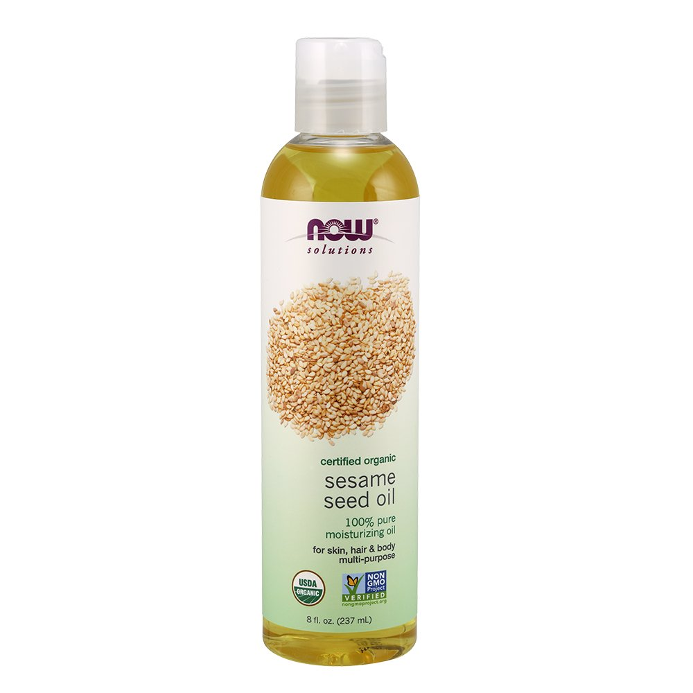 Now Foods Organic Sesame Seed Oil, 0.55 Pound 733739077240