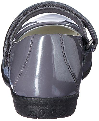 Clarks Mädchen außerschulischen Orra Star Schuhe In Anthrazit beschichtet Leder