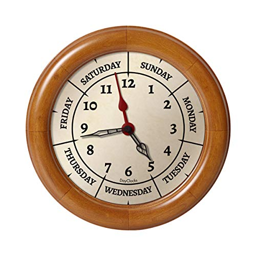 DayClocks SCO Small Contemporary Oak