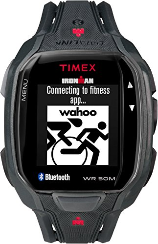 Timex Ironman Run X50+ Watch Black Red by Timex