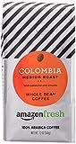 #2: AmazonFresh Colombia, 100% Arabica Coffee, Medium Roast, Whole Bean, 12 Ounce