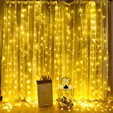 iEGrow 300 LED Fairy Lights Warm White 30 m Dimmable Copper Wire Waterproof Star Light for Indoor Outdoor Room Decoration Christmas Fairy Lights Party Wedding 3 Modes 10 Brightness [CE Approved]