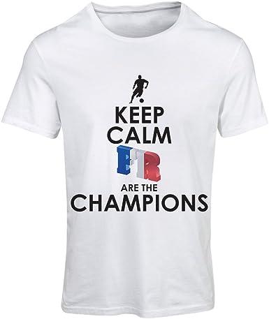 magasin officiel chaussures pour pas cher prix incroyable T-Shirt Femme Les Français sont Les Champions - Championnat ...