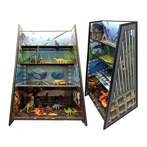 Dinosaur Play and Display Shelving for all your Jurassic action figures