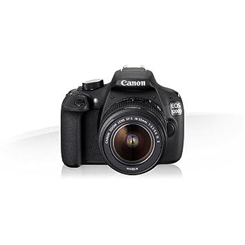 Canon Eos1200d - Cámaras réflex + Funda, 8 GB de 18 MP (1080p Full ...