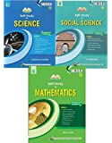 Evergreen's Self Study in Science,Social Science,Mathematics Combo For CBSE Class 10 (For March 2019 Examinations)