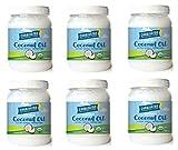 Carrington Farms Organic Extra Virgin Coconut Oil, 54 Ounce, 6 Pack