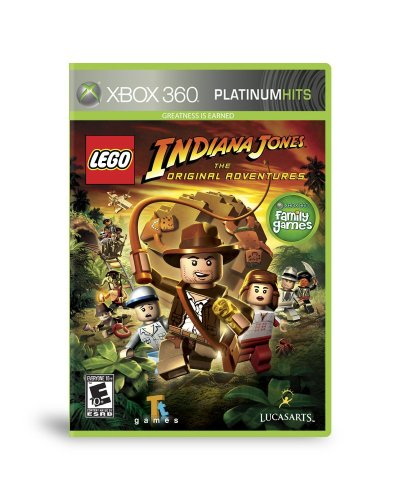 Lego Indiana Jones: The Original Adventures (Original Xbox Lego Games)