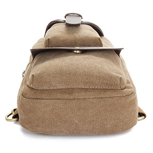 Hongrun Pack hommes sac à bandoulière unique version coréenne de la poitrine du couple marée paquet sac en toile sac de loisirs est un design compact et élégant petit paquet paquet sportif décontracté Wghir