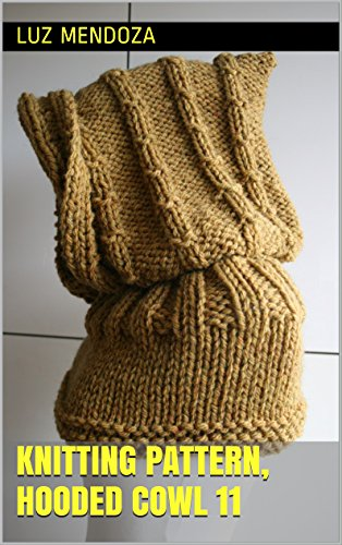 - Knitting pattern, hooded cowl 11
