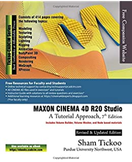 MAXON CINEMA 4D R20 Studio for Novices (Learn By Doing): CADSoft
