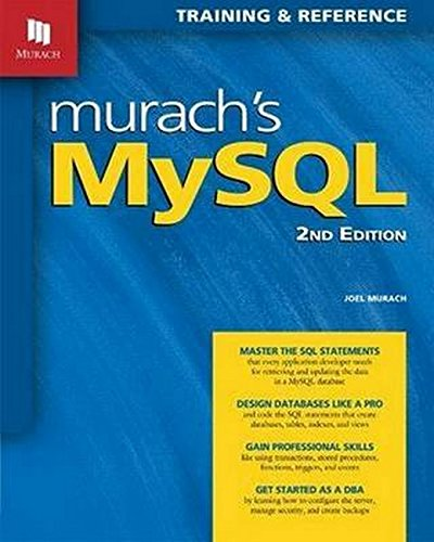 Murach's MySQL, 2nd Edition by Mike Murach Associates