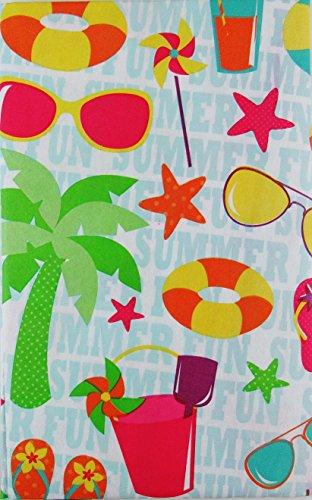 Vinyl Beach Umbrella - 8