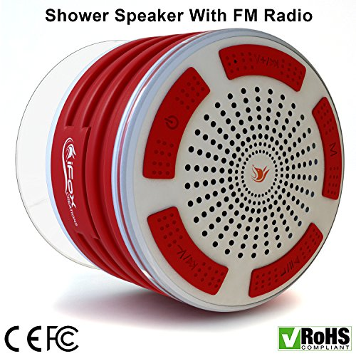 iFox iF013 Bluetooth Shower Speaker product image