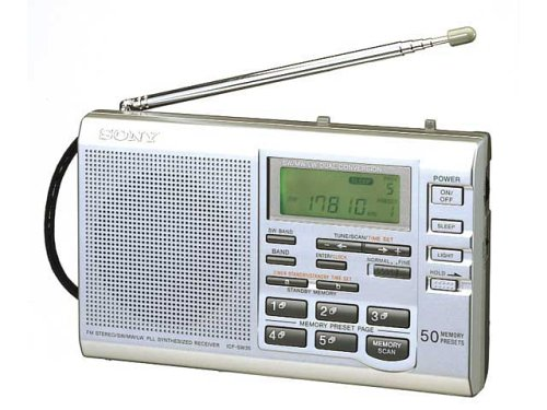 SONY World Band Receiver Radio ICF-SW35 | 50 Preset Memory (Japan Import)