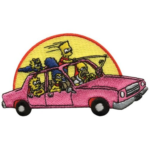 Click for larger image of Simpsons - Family Car Patch