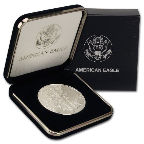 American Mint Coins - 2011 American Silver Eagle Uncirculated $1 Gift Box U.S. Mint