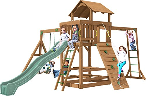 Creative Playthings (Playtime Series) Charlotte Swing Set Made in the USA (Series Swing Set Playtime)