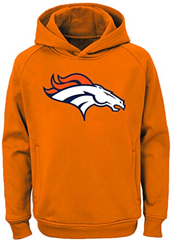 Outerstuff NFL Youth Team Color Performance Primary Logo Pullover Sweatshirt Hoodie (X-Large 18/20, Denver Broncos)]()
