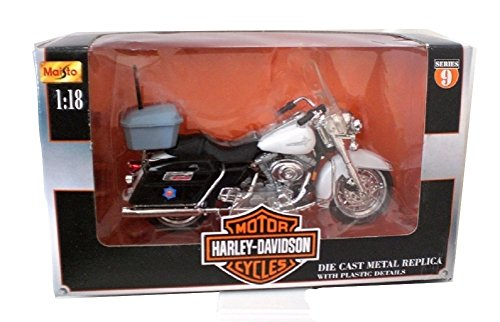 Maisto Harley Davidson Arkansas State Police Die cast Motorcycle 1:18 scale Series 9
