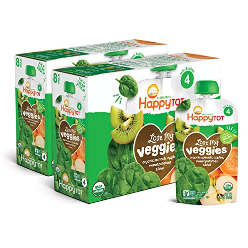 Happy Family Tot Organic Stage 4 Baby Food Love My