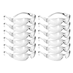 Rugged Blue Small Face Safety Glasses (12)